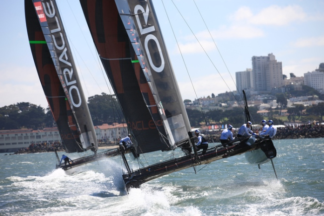 America's Cup World Series Insider