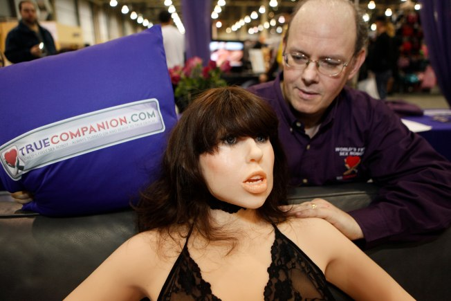 "Jersey Company Invents ""World's First Sex Robot"""