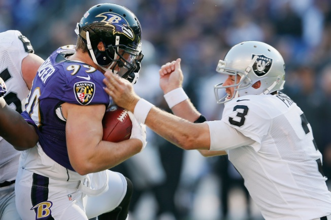Raiders Were No Match for Ravens