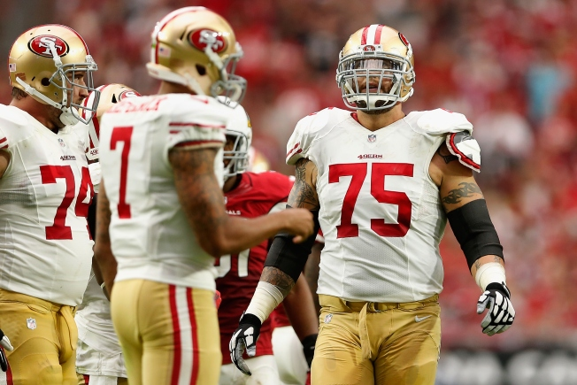 Now Without Boone, 49ers' Offensive Line Needs More Work