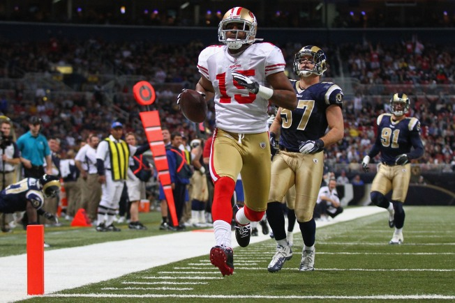Niners Hang on to Beat Rams, Clinch No. 2 seed
