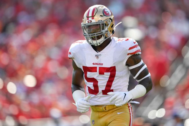 Niners' Greenlaw Gets the Call to Fill in for Injured Alexander