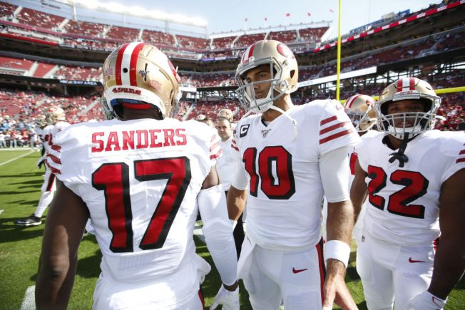 Garoppolo-Sanders Connection Likely to Get Stronger