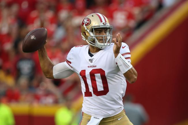 innovative design 45ac7 593b7 Niners' Jimmy Garoppolo Can't Wait to Get Started - NBC Bay Area