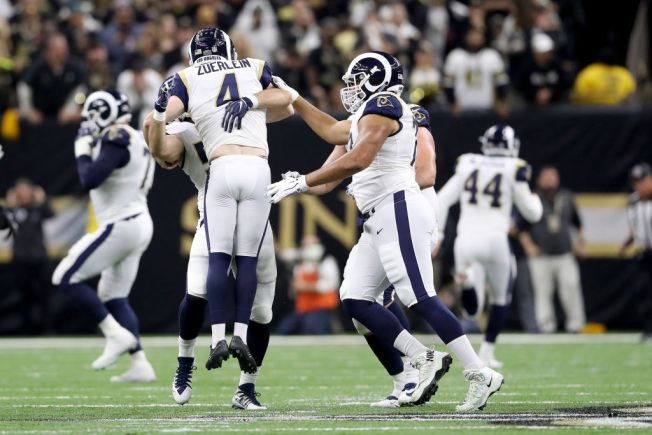 Zuerlein's 57-Yard Field Goal Sends Rams to Super Bowl