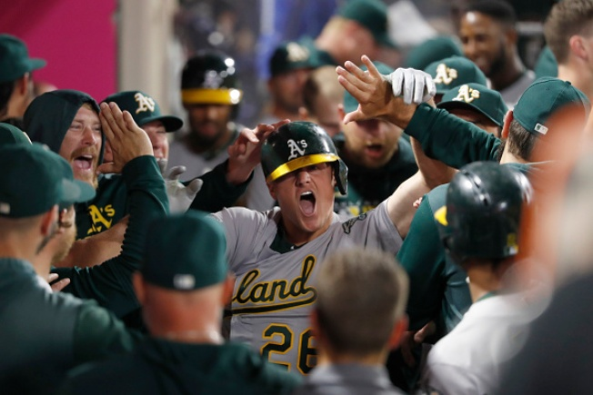 A's Clinch Second Straight Playoff Berth, Head to AL Wild Card Game