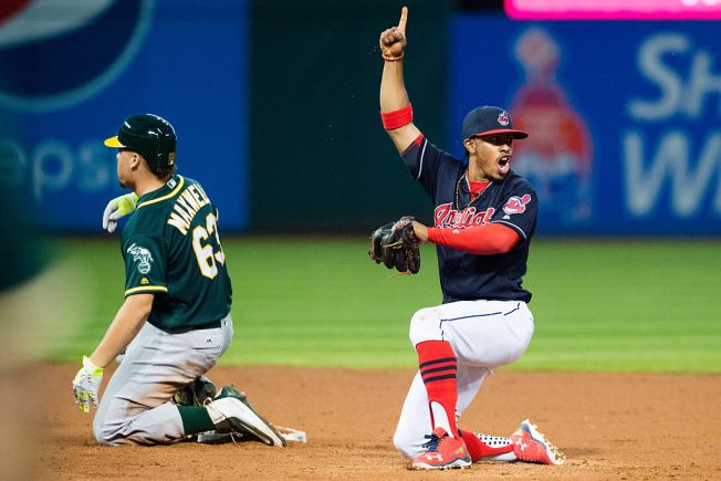 Overton Roughed Up, A's Fall to Indians