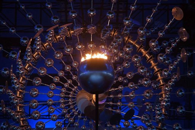 Rio Olympic Cauldron Smaller — By Design