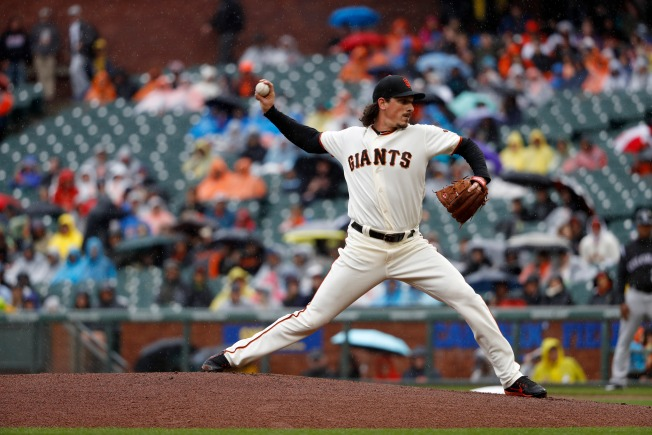 Samardzija Gives Up Four Early Runs, Giants Drop Finale to Rockies