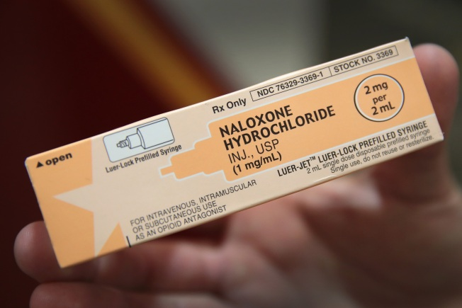 Novato Police Use Heroin Overdose Reversal Drug to Save Man's Life