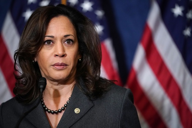 'It Will Ultimately be a Family Decision': Kamala Harris Says She Will Decide Whether to Run For President Over the Holidays