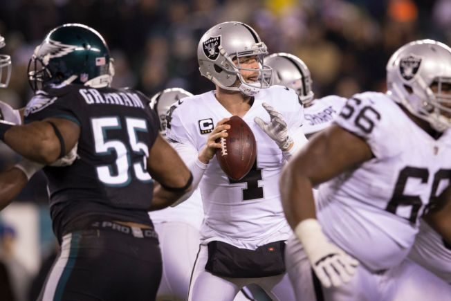 Raiders vs. Eagles on Christmas night