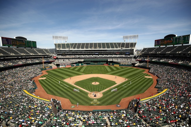San Francisco Giants vs. Oakland Athletics Game Sold Out