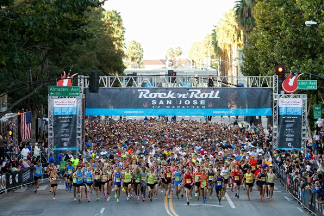The San Jose Rock 'n' Roll Marathon