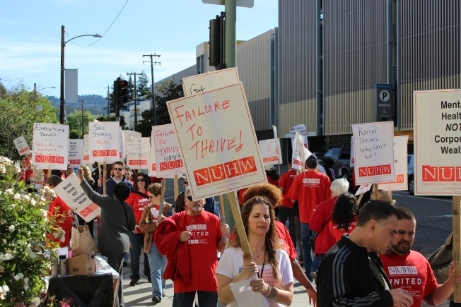 Kaiser Workers Strike To Protest Cost-Cutting, Suicides