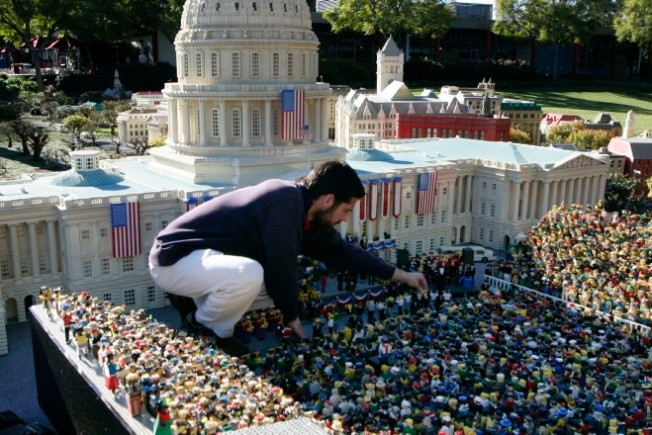 Paying Tribute in LEGO-Land