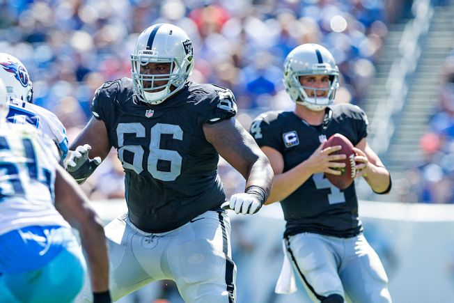 Carr Says It's Great to Have Gabe Jackson Back in the Lineup