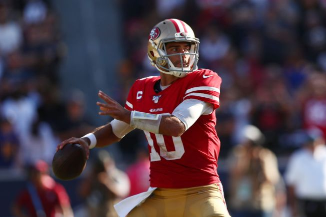 Garoppolo Finally Getting the Chance to Play Every Week