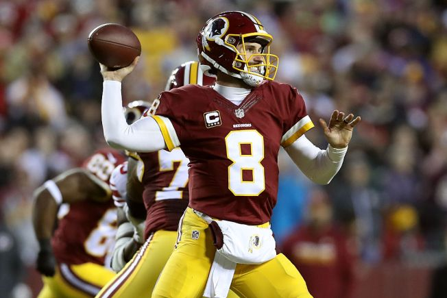 The Redskins aren't smart enough to trade Kirk Cousins now