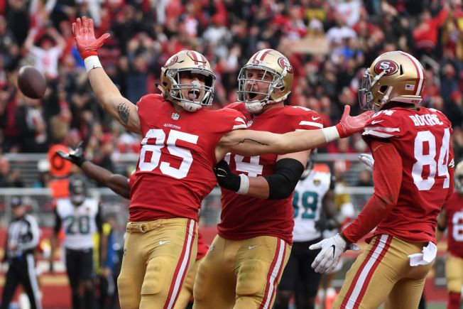 Niners Keep Rolling, This Time Over AFC South-Champion Jaguars