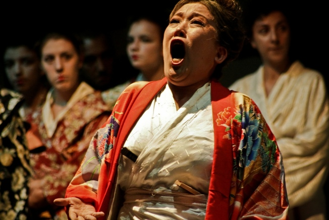 Madama Butterfly Opens Her Wings