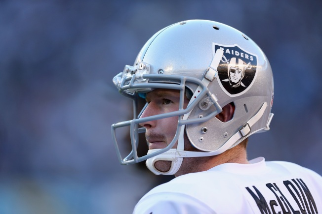 Raiders Rookie QB Carr Already has Surpassed McGloin