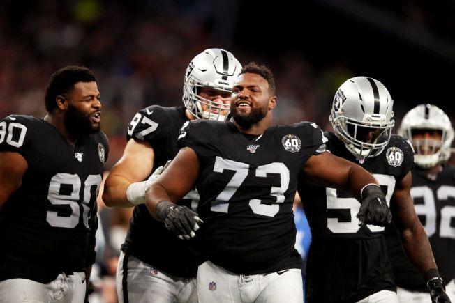Raiders' Maurice Hurst Is Gaining Momentum