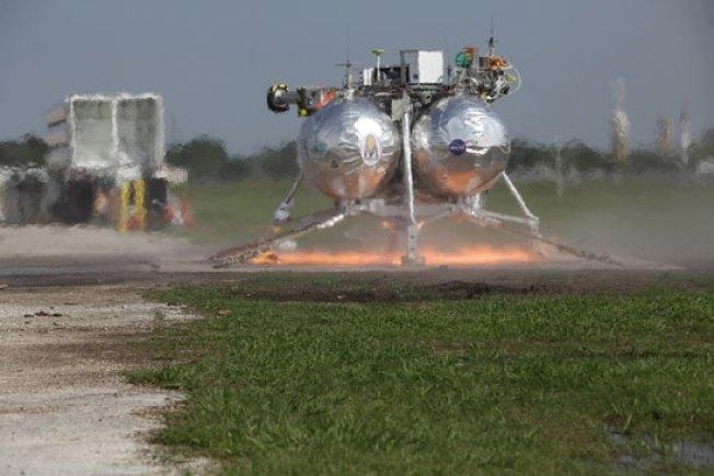 NASA's Next-Gen Moon Lander Crashes, Burns, Explodes