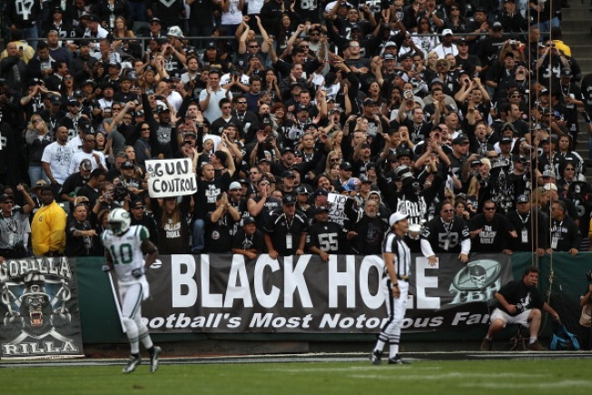 Raiders' Home Is Hostile Again for Visitors