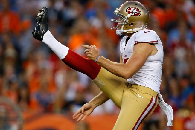 Niners Rookie Punter Pinion Has Been Inconsistent
