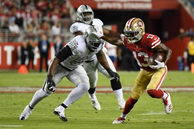 Niners' James Had Big Impact in a Limited Role