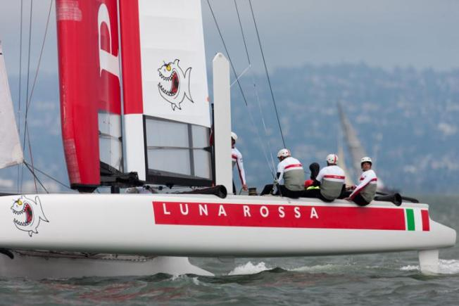 Kiwis Sail Solo in 1st Race of America's Cup Trials