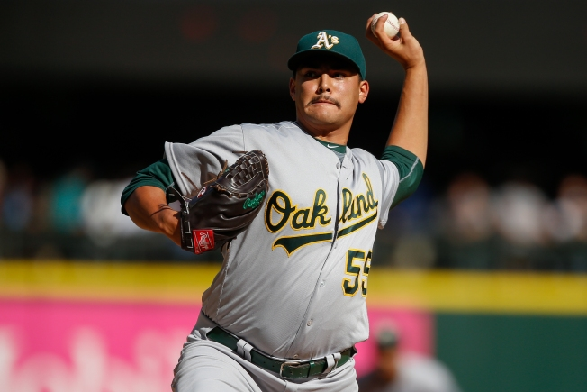 A's Season Ends With Win Over Mariners