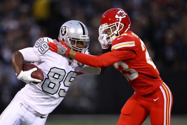 Raiders Moved Cooper Around to Get Him More Involved