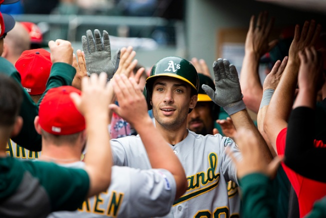 A's Go Deep to Beat Mariners, Win Series on the Road