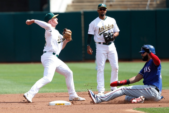 A's Stumble, Unable to Complete Sweep Over Rangers