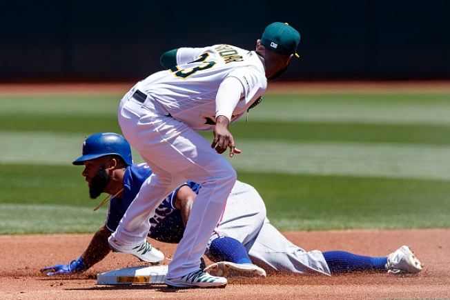 A's Salvage Series Split With Walkoff Walk to Beat Rangers