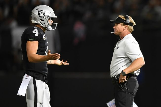 Raiders Start Furious, Then Fade in Second Half