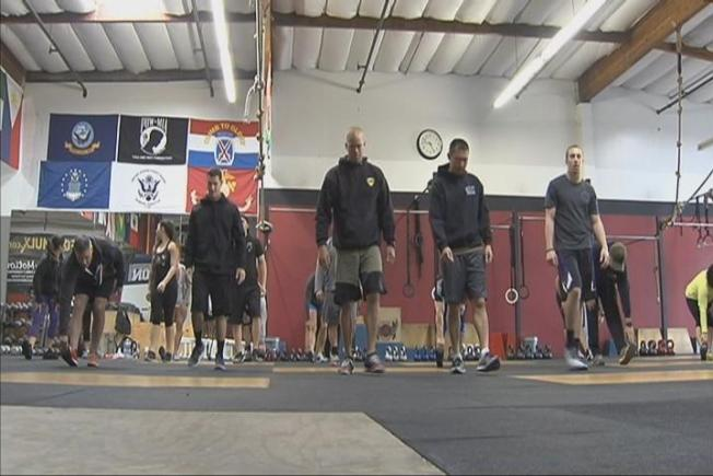 Charity Workout For Fallen BART Officer Held in Union City