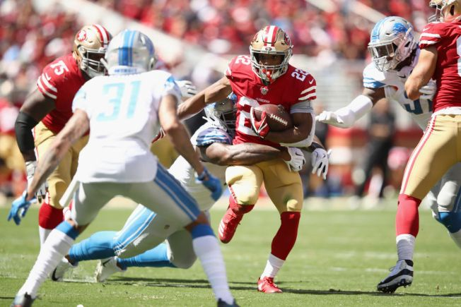 Breida Helps 49ers Get Back on Winning Track