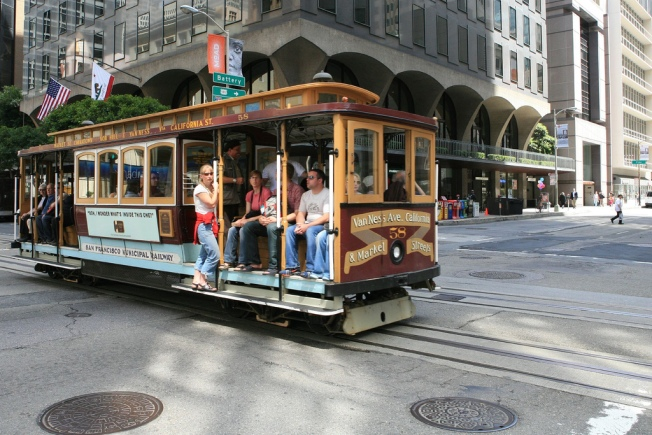 California Street Cable Car Going Offline for 6 Months