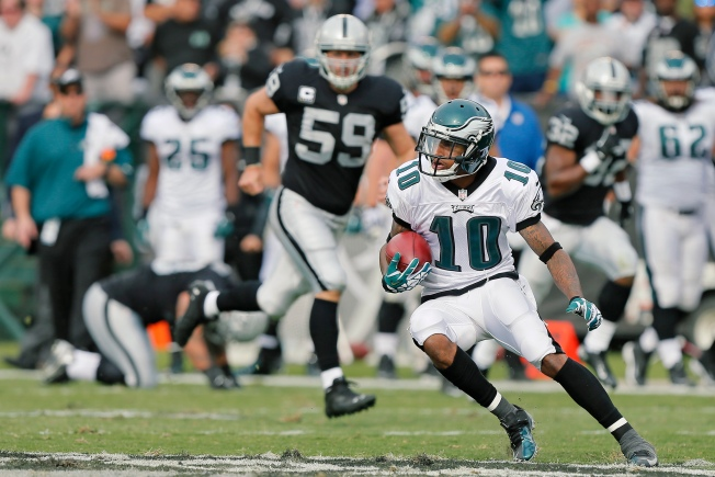 Raiders Appear in Thick of Race to Sign DeSean Jackson