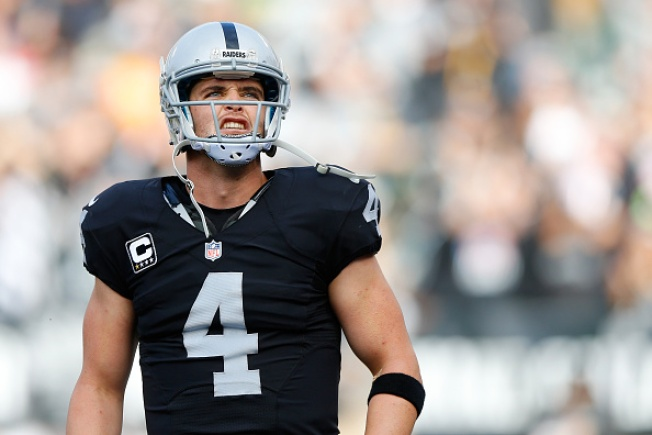 Carr's Mistakes Critical in Loss to Chiefs