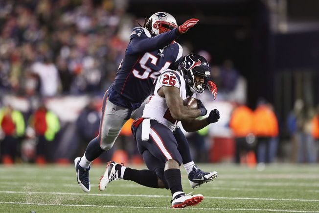 Raiders May Get Into Bidding for Patriots' Linebacker Hightower