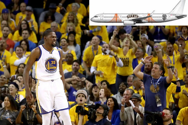 639aea55c36 Alaska Airlines Teams Up With Warriors  Durant