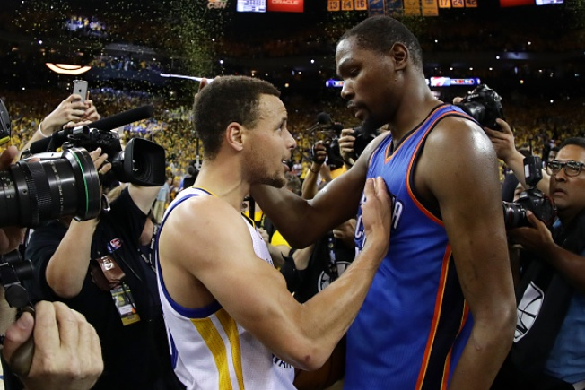 Warriors Score! Oklahoma City's Kevin Durant to Go to Golden State Warriors