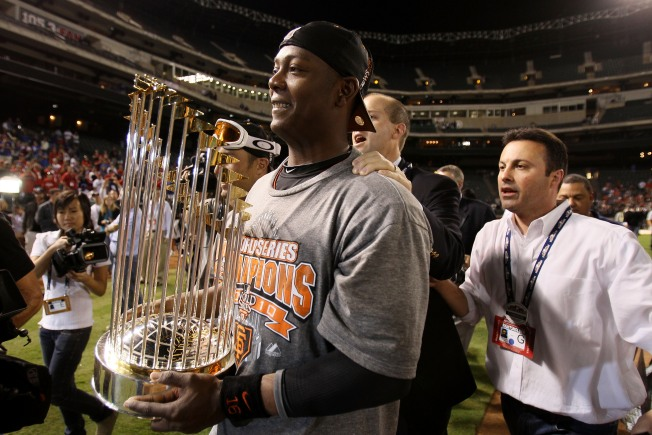 Giants Decline Option on World Series MVP