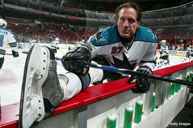 Roenick Hangs Up Skates for Dancing Shoes