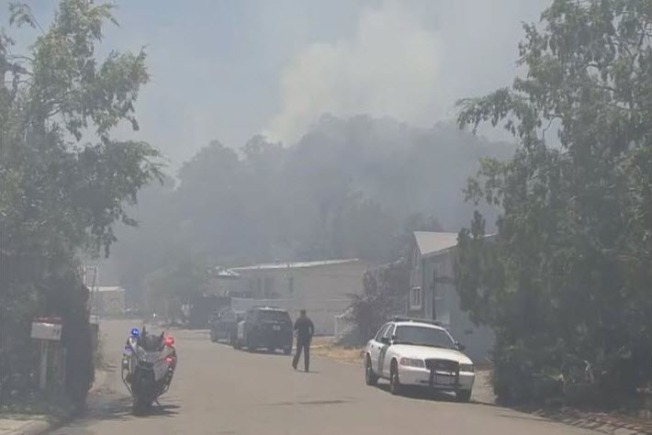 16-Acre San Rafael Fire May Have Been Arson