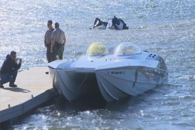 Search Continues for 4 Men in Water After Boat Capsizes in Folsom